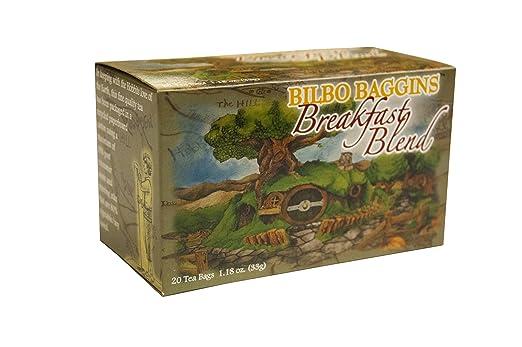 Tea Bilbo Baggins - Mezcla de desayuno (20 bolsas/caja ...