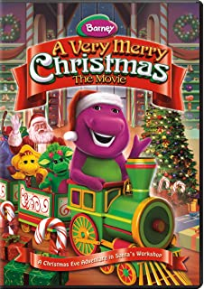 barney friends very merry christmas the movie - Barney Coloring Book