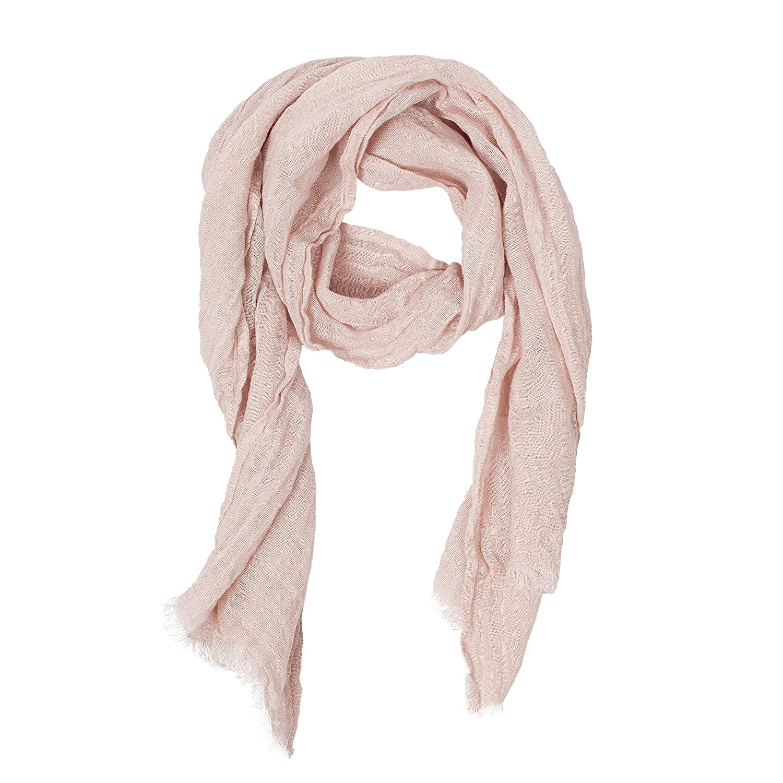 faf0fc6bbd6 Pink Scarf | 100% Linen Scarf | Scarves For Women | Mens Scarf ...