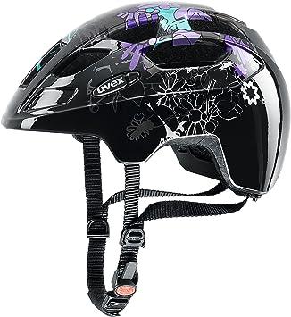 Uvex niña Finale Junior LED Bicicleta Casco, Primavera/Verano ...