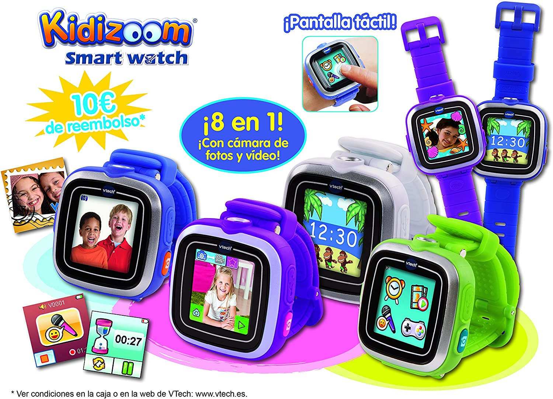 VTech - Smartwatch, Kidizoom, Color Blanco (3480-155737): Amazon ...