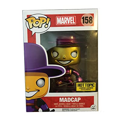 Funko Pop! Mystery Deadpool Metallic Chase Madcap Vinyl Figure by PoP! Marvel: Toys & Games