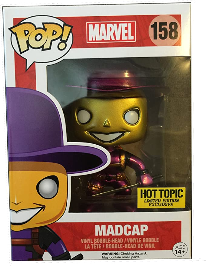 POP Funko Marvel Deadpool Madcap Vinyl Exclusive No.158