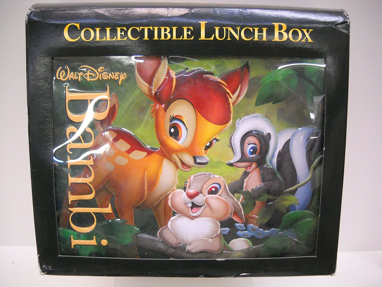 amazon com walt disney bambi collectible lunch box best buy