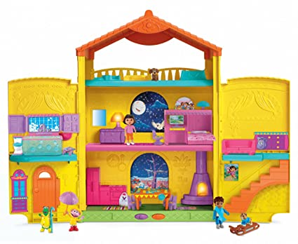 Fisher-Price Dora the Explorer Window Surprises Dollhouse