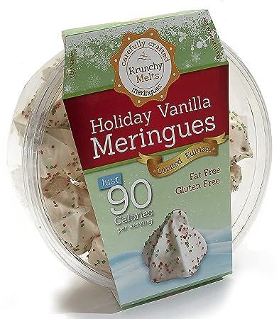 Original Meringue Cookies (Holiday Vanilla) • 90 calories per serving, Gluten Free,