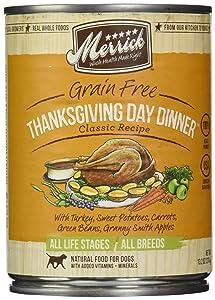 Merrick, Canned Dog Food, 5-Star Thanksgiving Day Dinner 13.2 oz.