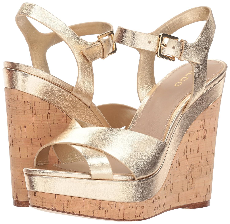f192ebca3992 Aldo Women s Madyson Wedge Sandal Gold 10 B US  Amazon.ca  Shoes   Handbags
