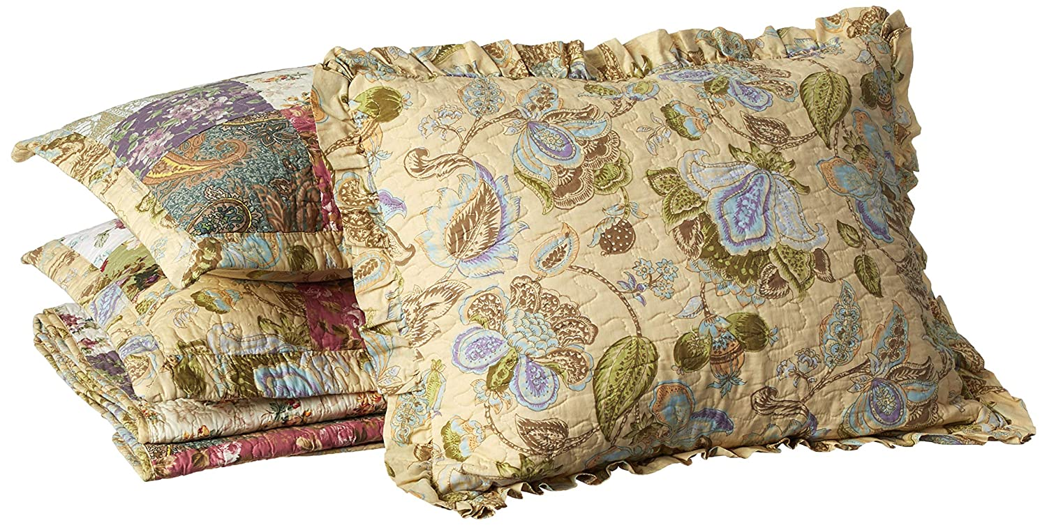 Greenland Home Blooming Prairie 5-Piece Quilted Daybed Set