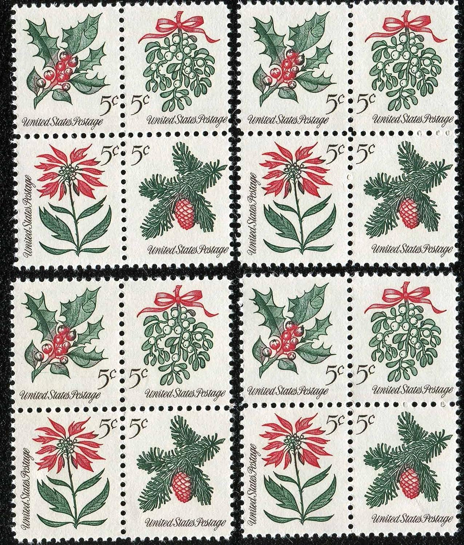 Amazoncom 1964 Vintage Christmas Holiday Foliage Mistletoe