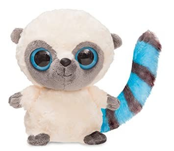 Aurora 13005 Yoohoo - Lémur de peluche (18 cm), color azul