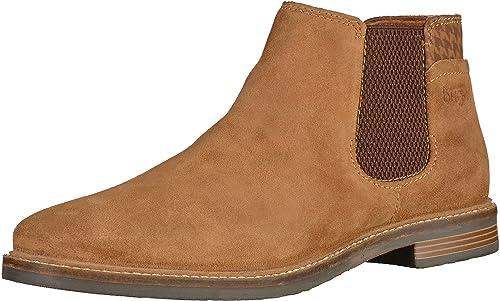 bugattiF75263 - Botines Chelsea Hombre, Color Marrón, Talla 48 EU: Amazon.es: Zapatos y complementos