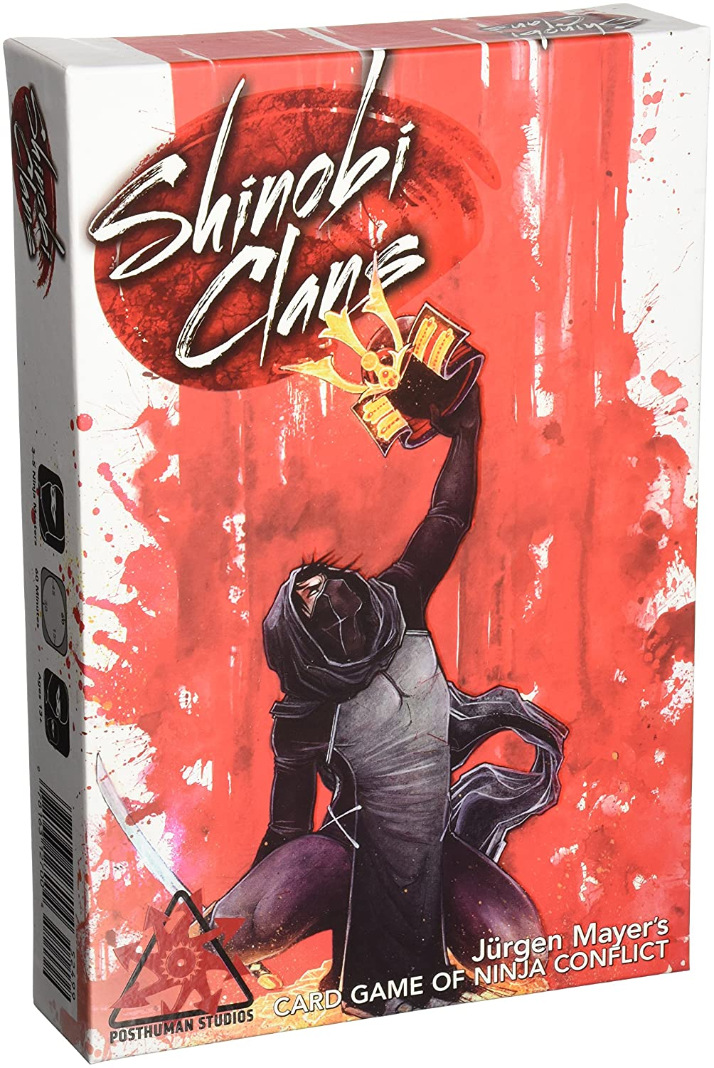 90000PS Shinobi Clans Board Game Publisher Services Inc PSI