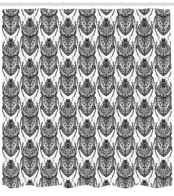 Nyngei Egipcio de Dibujados a Mano Estilizados Escarabajos ...