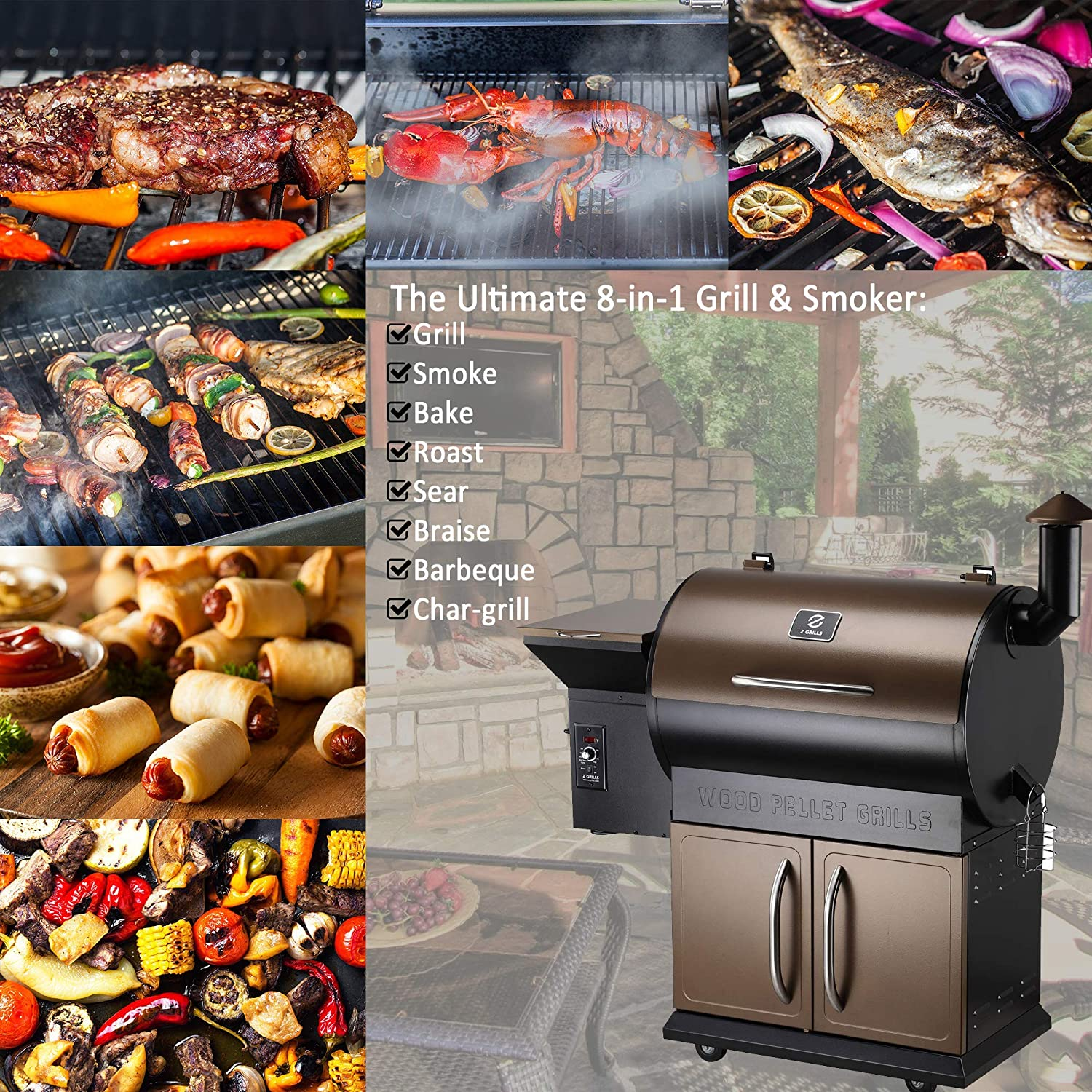 Z Grills ZPG-700D Black Friday Deals 2020