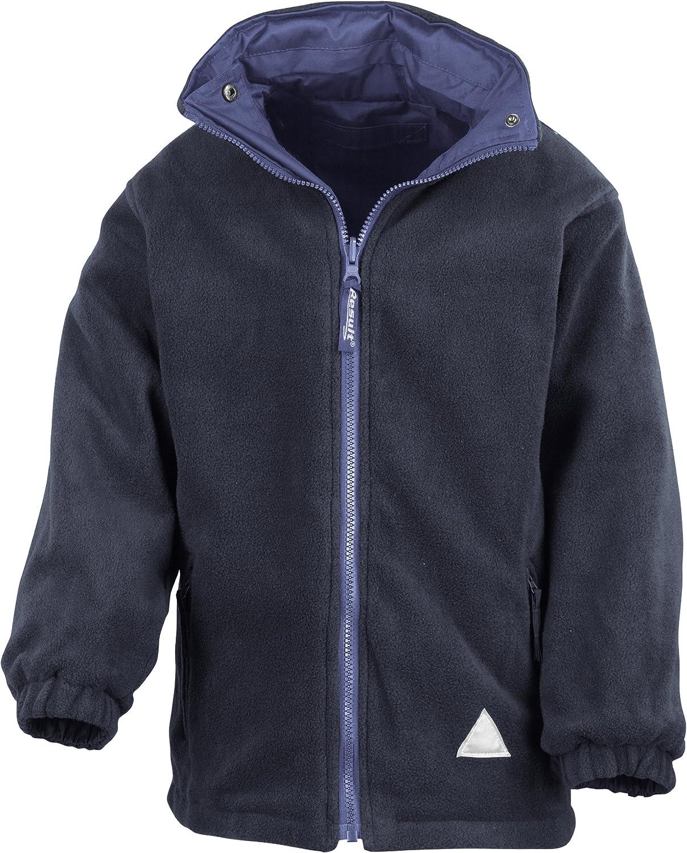 Result Childrens Kids Reversible Storm Stuff Pilling Anti Bargain Limited price sale Fleece