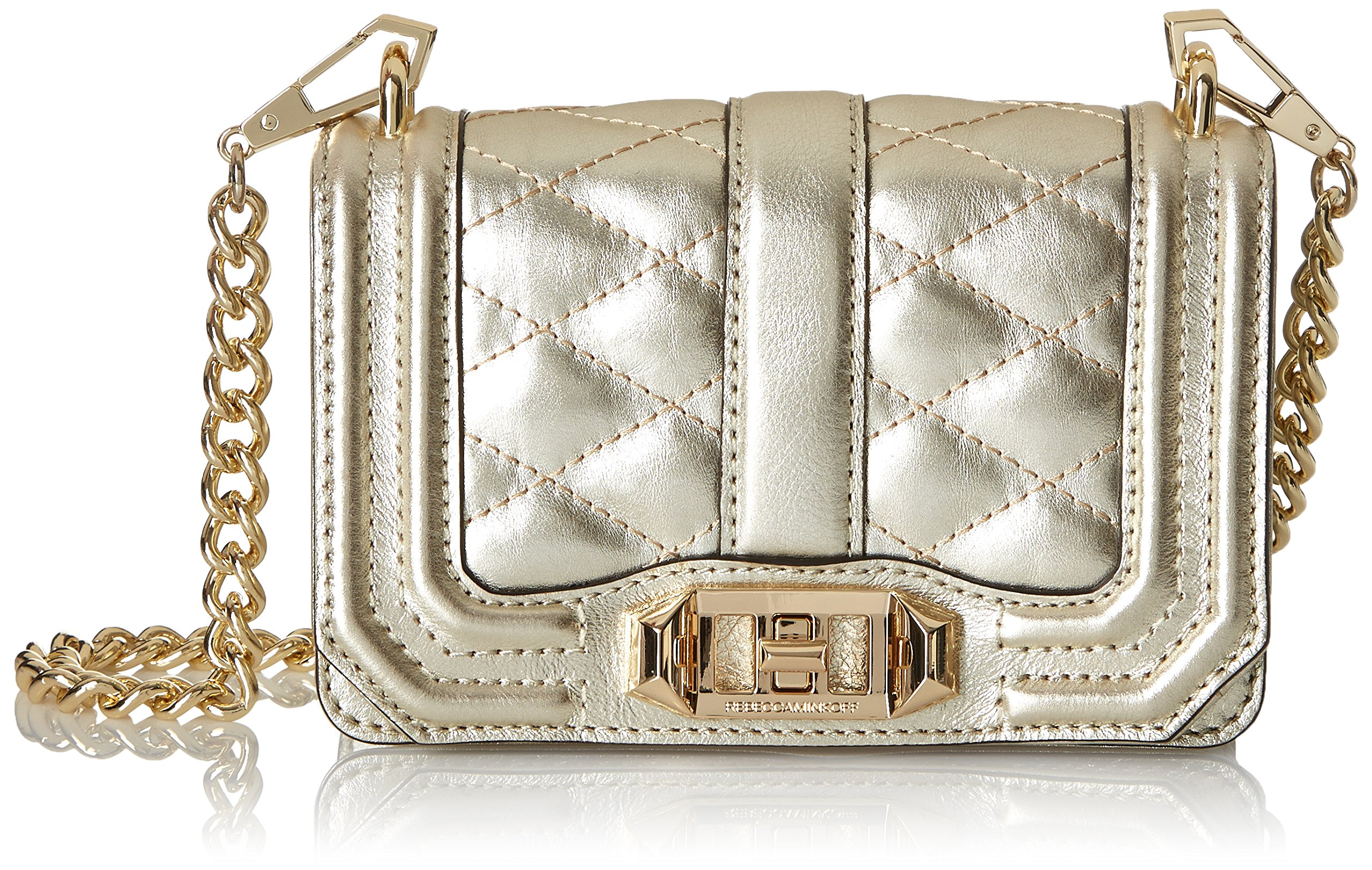 Rebecca Minkoff Mini Love Cross Body Bag, Pewter, One Size