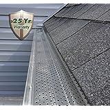 Leafsout 5 Quot Wide Diy Micro Mesh Rain Gutter Guard System