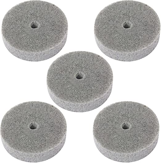 Amazon.com: 5 pcs 3 inch 75 mm Fibra Pulido Pulido rueda de ...
