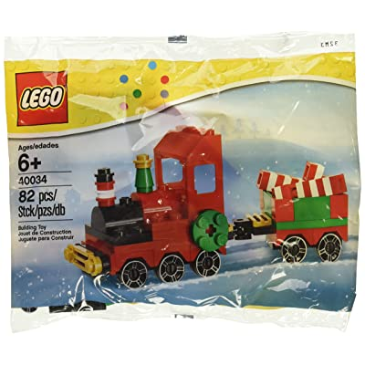 LEGO Seasonal: Christmas Train Set 40034 (Bagged): Toys & Games