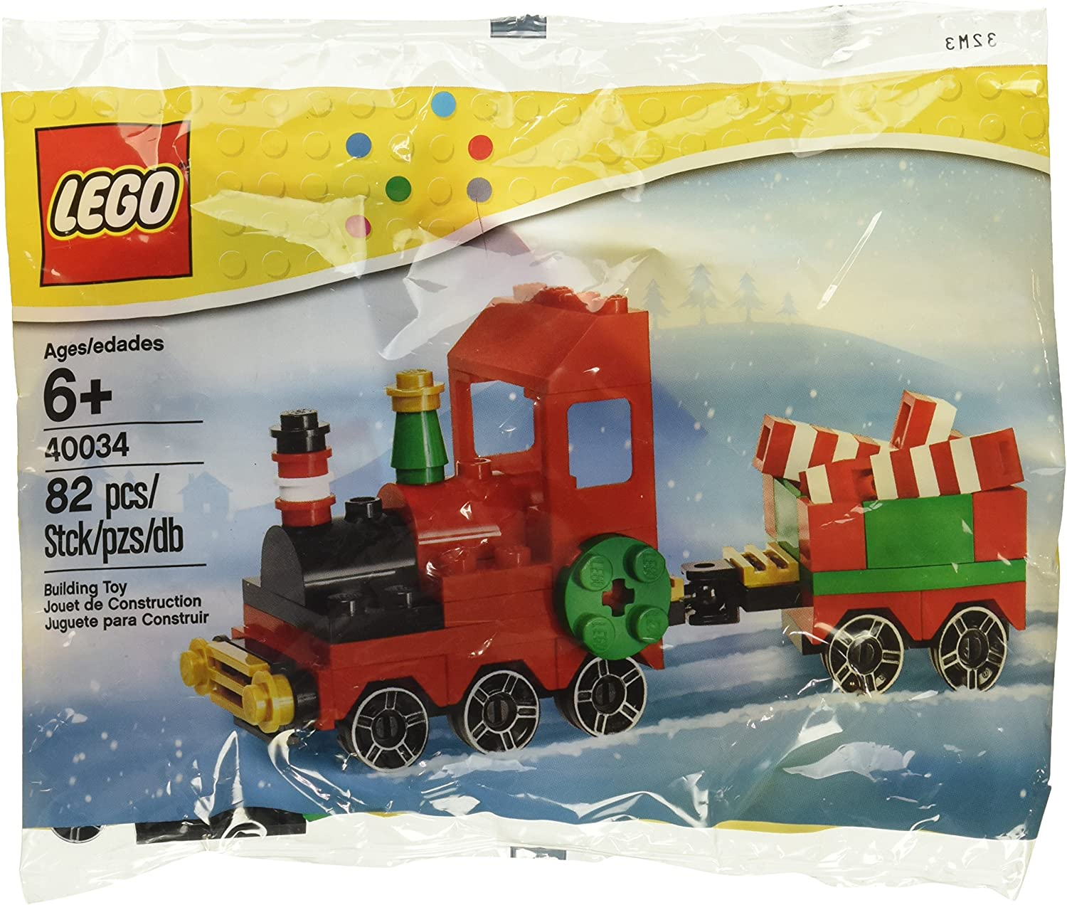 - Christmas Train Poly Bag Set NEW LEGO 40034 Seasonal