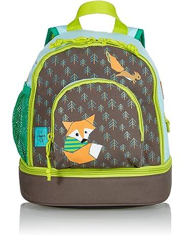 504282ba01ce8 LÄSSIG Kinderrucksack mit Brustgurt Junge Mädchen Kindergartentasche  Kindergartenrucksack Mini Backpack