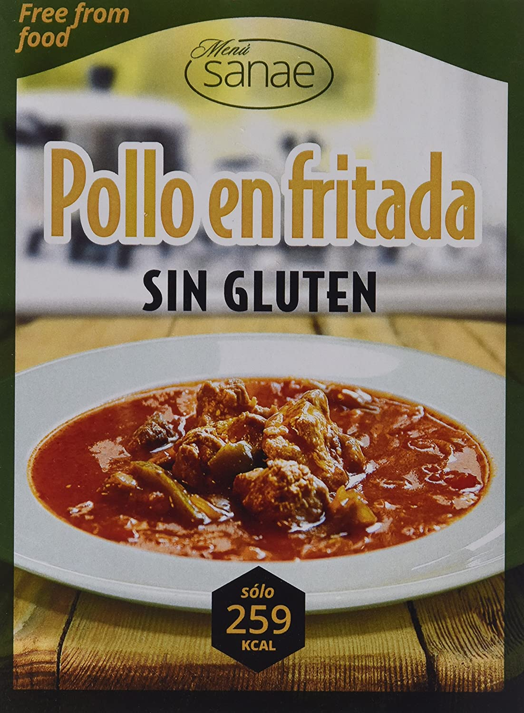 Menú Sanae Pollo En Fritada Sin Gluten - 4 Paquetes de 300 ...