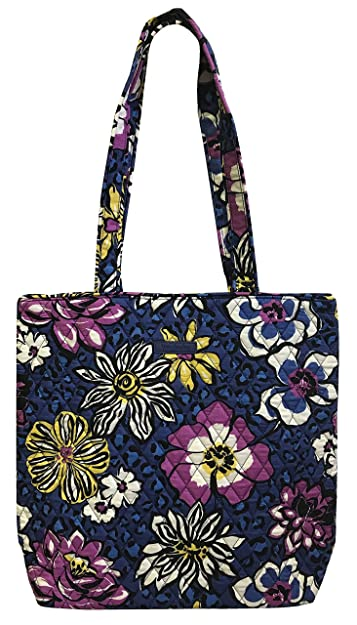 afef145d24 Vera Bradley Tote with Solid Color Interior (Updated Version) (African  Violet)