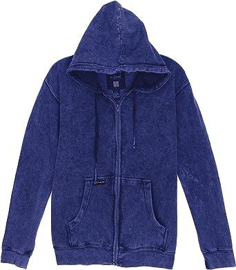 Mens Basic Crewneck Fleece Lined Sweatshirt-Navy-2XL
