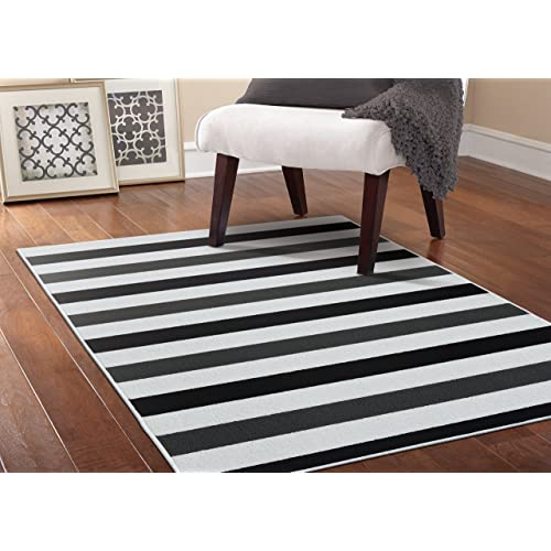 Black And White Floor Rug: Black And White Rugs: Amazon.com