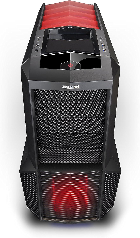 Zalman Z11 Plus HF1 Midi-Tower Negro - Caja de Ordenador (Midi-Tower, PC, De plástico, Acero, Negro, ATX,Micro ATX ...