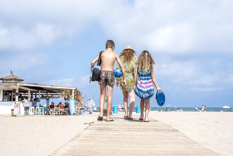 Caja fuerte para la playa CON ALARMA : Cajaplaya con ALARMA: Amazon.es: Jardín