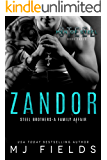 Zandor: Steel Brothers- A Family Affair (A Men of Steel Book 3)