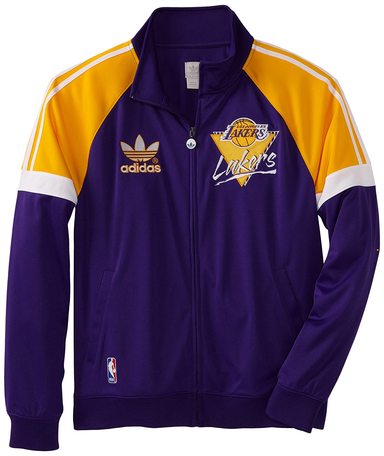 adidas Los Angeles Lakers Originals NBA Court Series Retro ...
