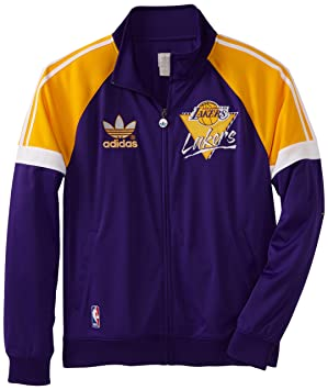 Adidas Los Angeles Lakers Originals NBA Court Series Retro Track Jacket Chaqueta: Amazon.es: Deportes y aire libre