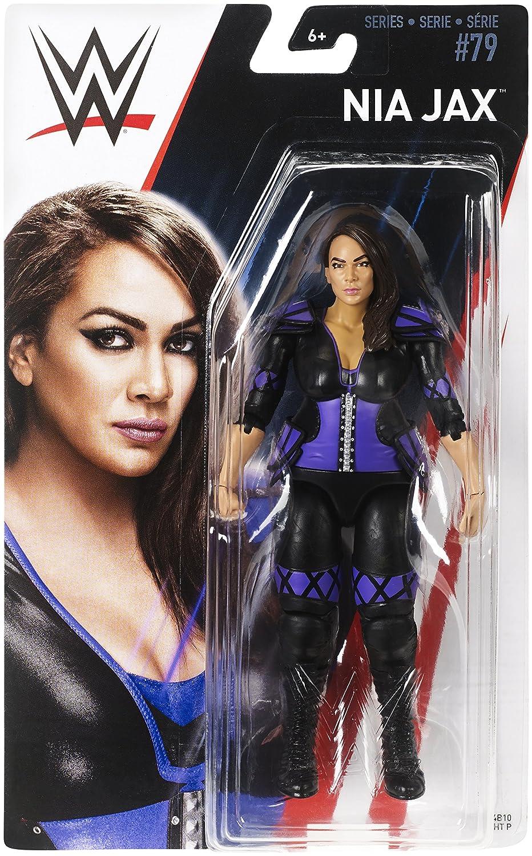 WWE Figura básica Nia Jax, wwe figuras (Mattel FMD42): Amazon.es: Juguetes y juegos