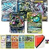 Pokemon Ultra Rare Lot - 5 Random Cards - All Ultra Rare - V, Tag Team, GX, MEGA EX, Trainer, EX and/or Shining - Includes Li