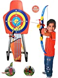 Laser Bow Arrow Archery Set Children Kids Crossbow Target Outdoor