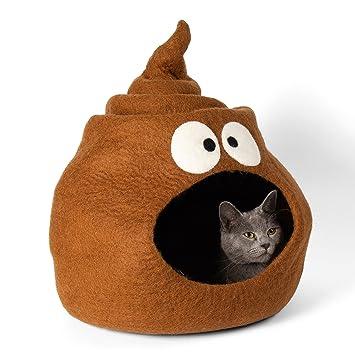 Twin Critters KittiKubbi® - Cama para Gatos (100% Lana Natural, tamaño Grande, para Gatos y Gatitos): Amazon.es: Productos para mascotas