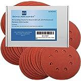 40 Bond Abrasives Sanding Sheets For Bosch GEX 125-150 Professional Random Orbit Sander All Grades