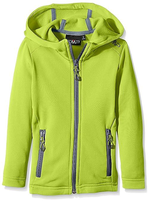 CMP Chaqueta forro polar para niña, todo el año, niña, color Verde -