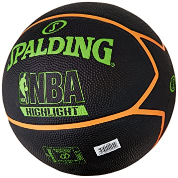 Spalding NBA Highlight Outdoor Balón de Baloncesto, Unisex Adulto ...