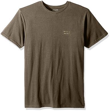 306e3a4de08ff BILLABONG Men's Die Cut Theme Tee T-Shirt: Amazon.co.uk: Clothing