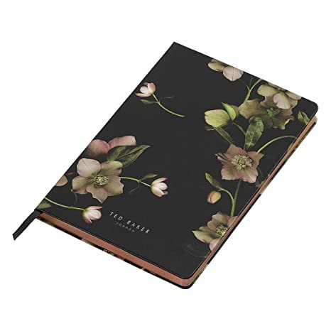 amazon com ted baker soft touch arboretum floral 192 lined page a5