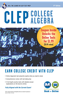 Amazon clep calculus book online clep test preparation clep college algebra book online clep test preparation fandeluxe Gallery