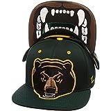 "Zephyr ""Menace"" Adjustable Snapback Cap - NCAA Flat Bill, Men's One Size Baseball Hat"