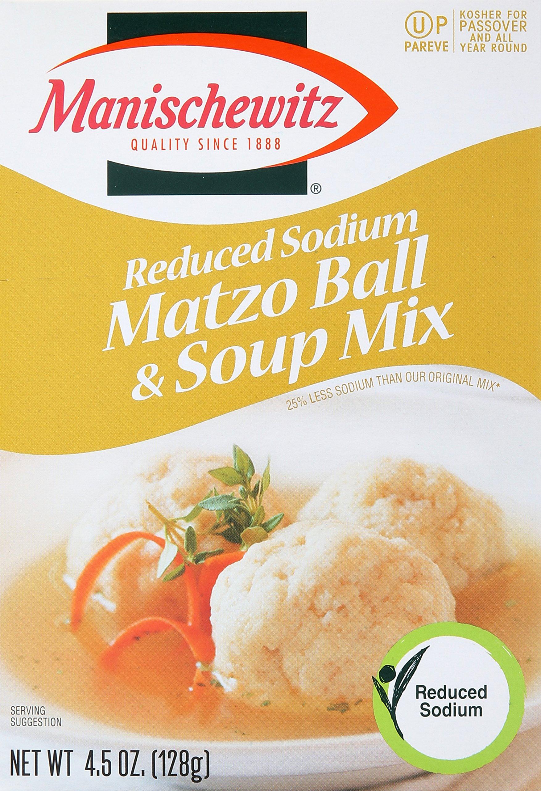Matzo Ball & Soup Mix, Reduced Sodium, 4.5 oz