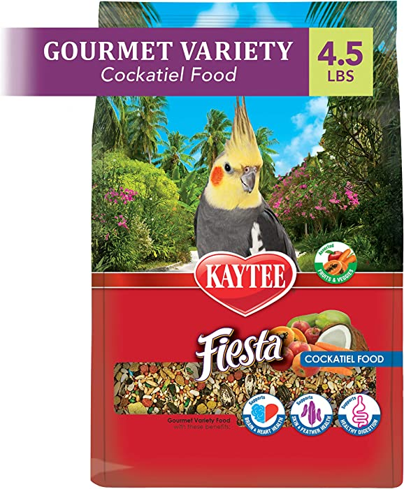 Kaytee Fiesta Bird Food For Cockatiels