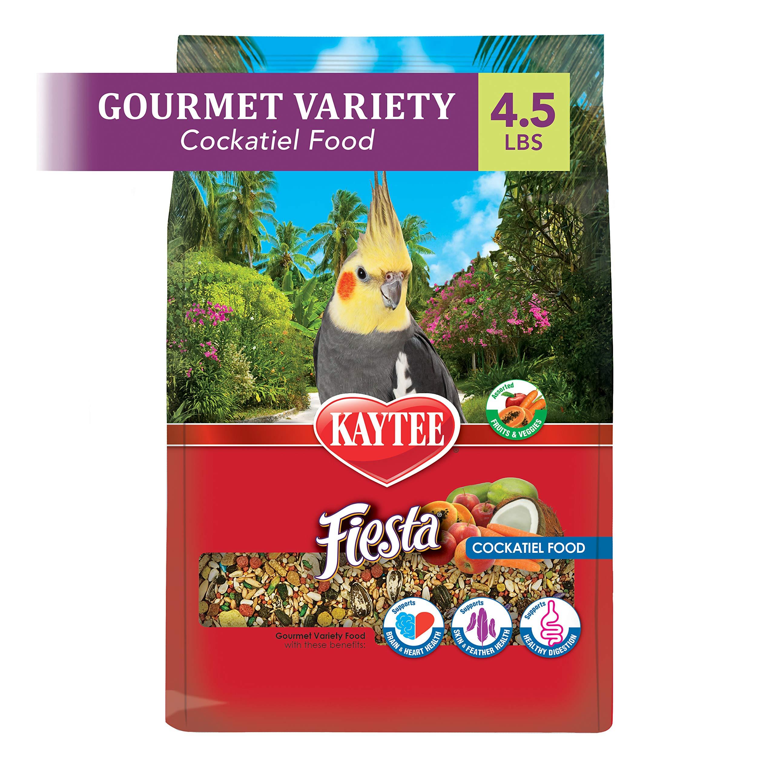Kaytee Fiesta Cockatiel Food 4.5 lb