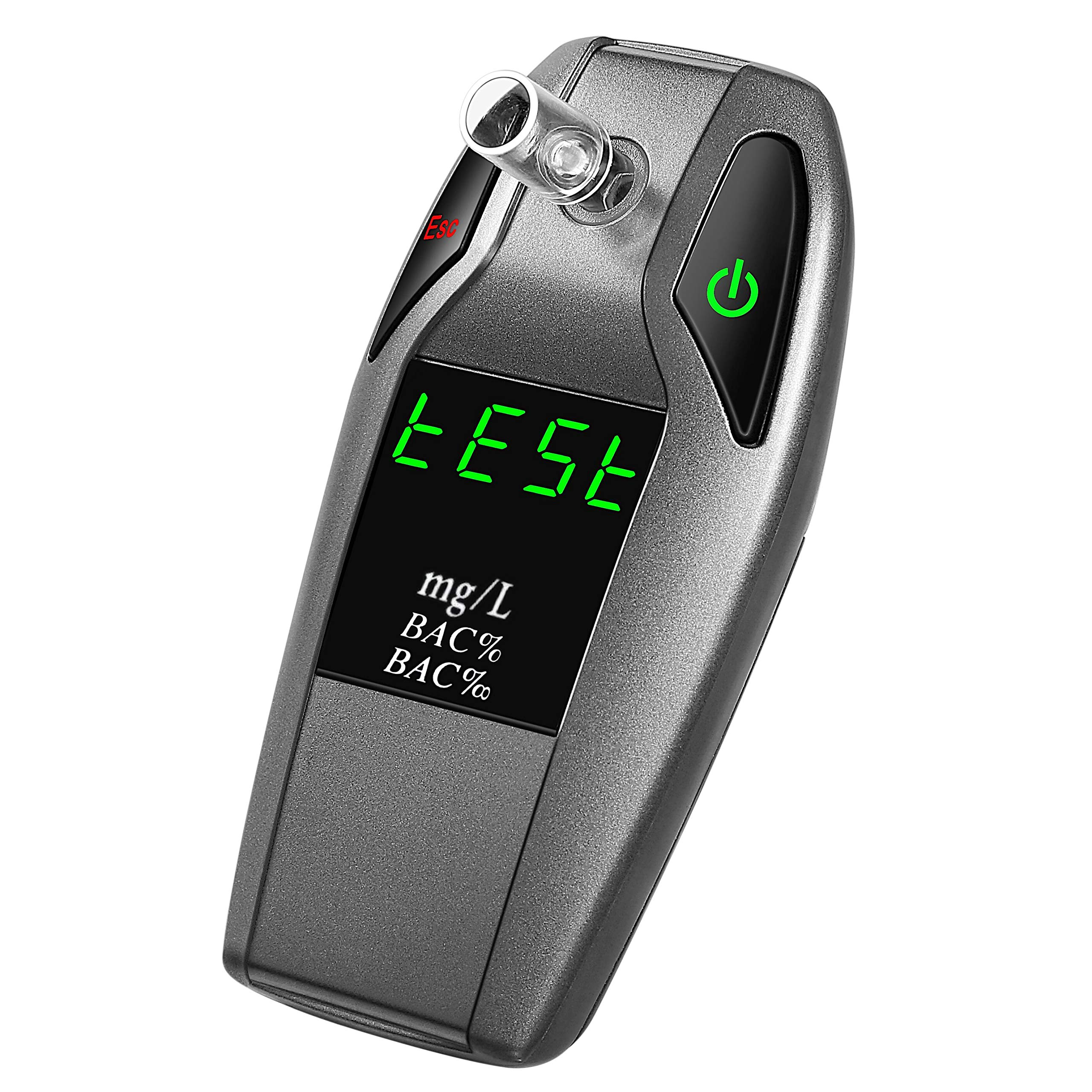 Fuel Cell Breathalyzer Professional Portable Alcohol Tester